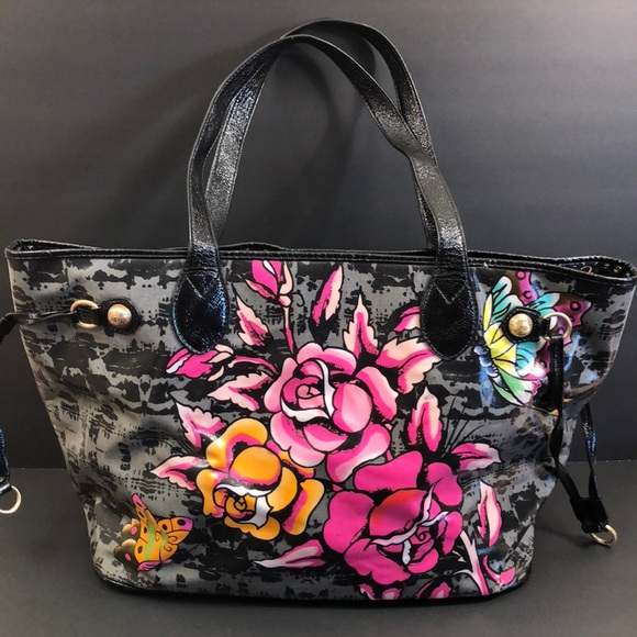 c9f3673bb294 Ed Hardy Handbags - Large Don Ed Hardy designs Tote