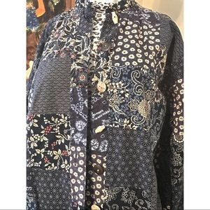 Jackets & Blazers - Mandarin Style Jacket Size 16
