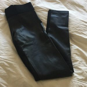 Club Monaco Leather Pants