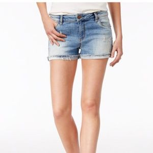 STS BLUE distressed blue jean shorts 26