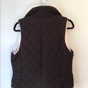 Jackets & Blazers - Reversible Black and White Faux Fur Vest