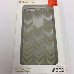 Incipio iPhone 6 gold cell phone case