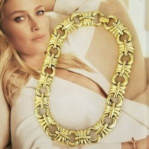 Givenchy Chuncky Gold Necklace