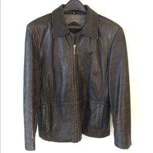 Jackets & Blazers - Black Women's Leather Jacket