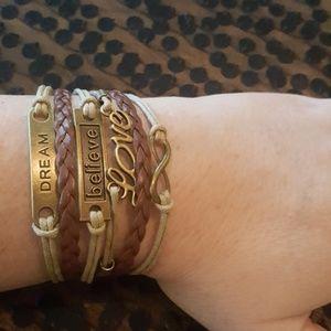 Jewelry - Dream Believe Love Bracelet