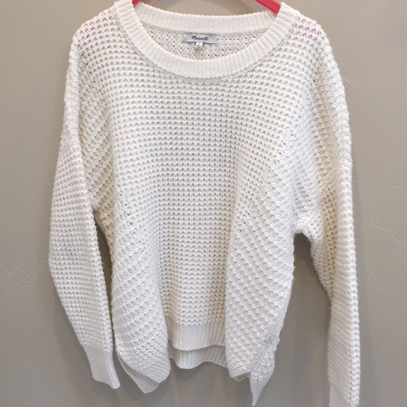 5cb7bb769c77 Madewell Sweaters - Madewell stichmix pullover sweater