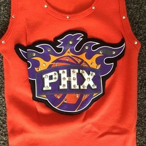 purchase cheap d441e 5563a Phoenix Sun's Bling tank from NBA store XS