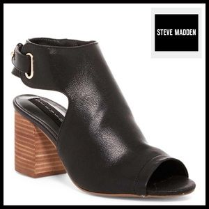 STEVEN BY STEVE MADDEN LEATHER ANKLE BOOTS