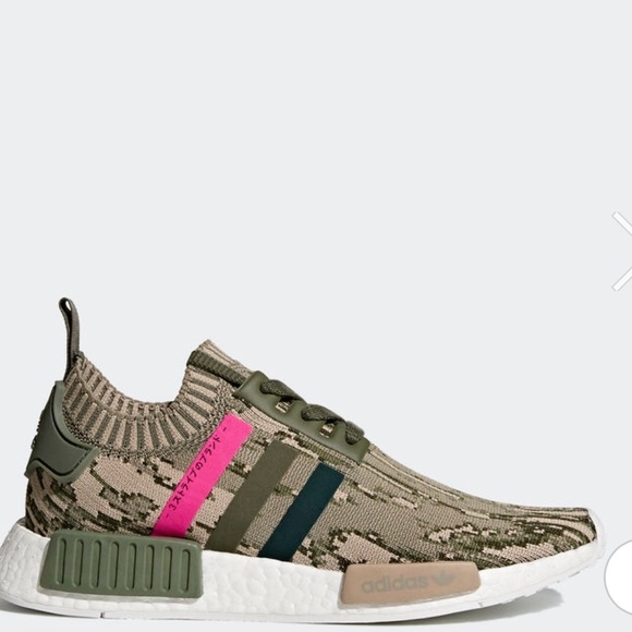 check out ee574 90205 Brand new NMD R1 camo primeknit shoes size 5.5