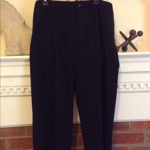Sag Harbor Woman Black Pants Size 18W