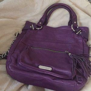 Cynthia Rowley Purple leather Crossbody