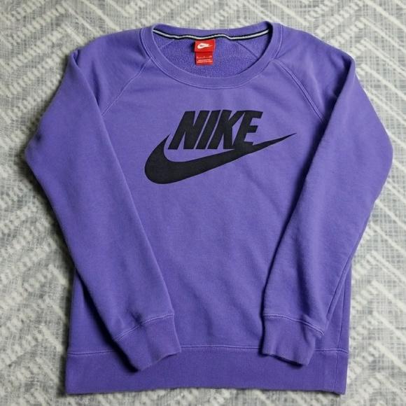 ceef64471e7 Women Nike Purple Crew Neck Sweater Size Small. M 5a219cf15c12f8cf5e018608