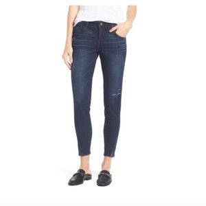 NWT Wit & Wisdom twisted seam ankle skimmer jeans