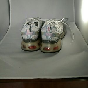 Nike Air Max 360 White Silver Pink Size 10