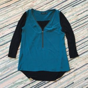 Trouve Two Toned Top