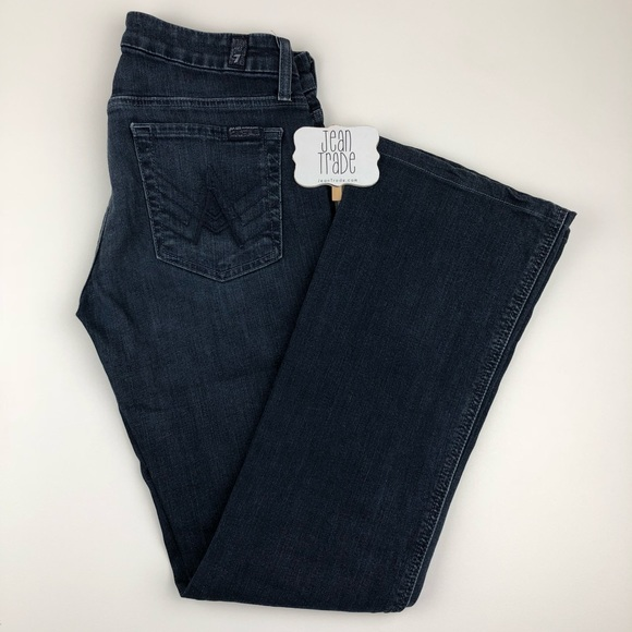 "7 For All Mankind Denim - 7 for all mankind ""A"" pocket bootcut jean"