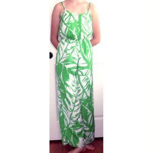 Lilly Pulitzer Target Jumpsuit S Palm Boom Boom