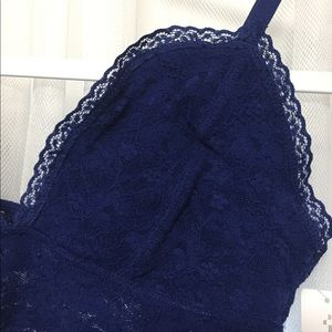 210e4ef376 Old Navy Intimates   Sleepwear - Blue Lace Bralette • Old Navy • XS