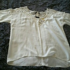Metaphor lace blouse