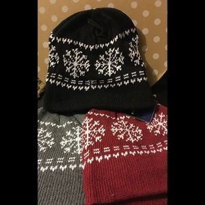 Other - 🎁🎁 Fleece lined Stocking Hats - WARM🎁🎁GIFT!!
