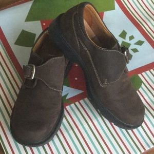 TIMBERLAND leather loafers, size 6M