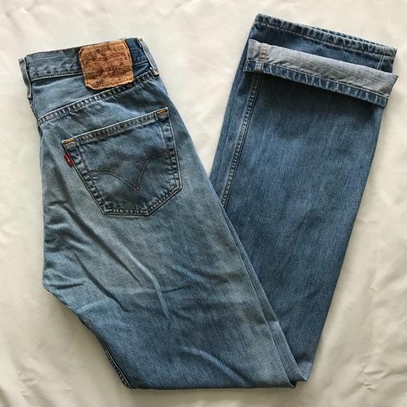 fc501e3085a Levi's Jeans | Mens Levis 501 Button Fly 33x35 | Poshmark
