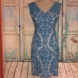 TRACY REESE~Brocade Sheath Dress~6