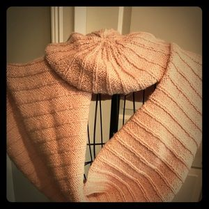 Brand new juicy couture infinity scarf and beret