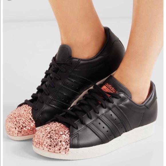adidas superstar rose gold metal le scarpe 10 poshmark