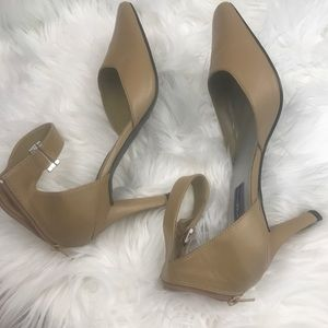 Nicole Miller Collection Ankle Strap Pumps