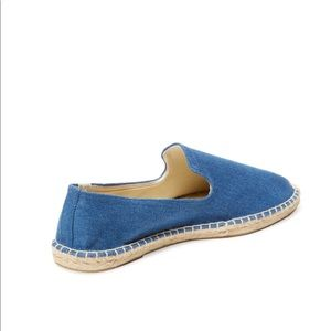 00968a8d29d Soludos Shoes - SOLUDOS Smoking Slipper Denim Chambray Espadrilles