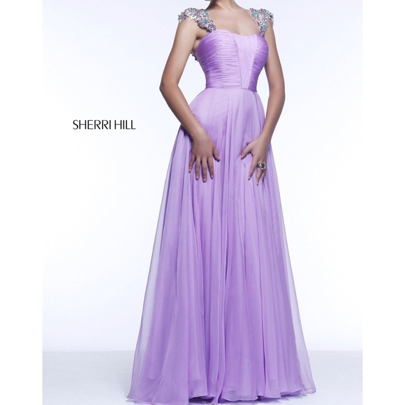 055cbad4334f Sherri Hill turquoise prom dress style no. 11087