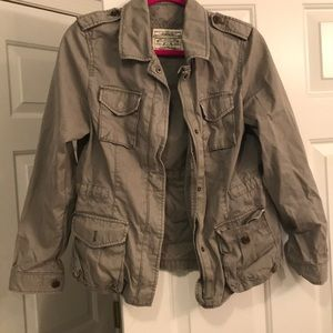 Banana Republic Military Jacket size M