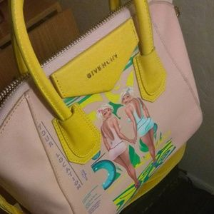 Givenchy Antigona Leather Satchel