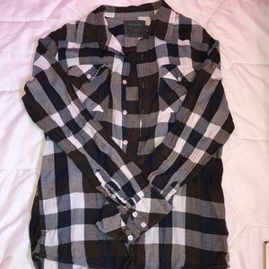 Loose Fit Flannel