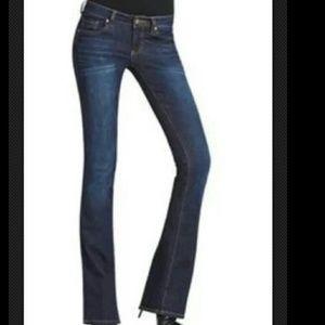 CAbi 967R Baby Boot Cut Jeans Dark Wash SZ 4