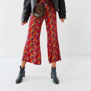 Urban Outfitters Pants - UO Cropped Pattern Culottes