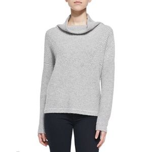 French Connection gray knit turtleneck sweater