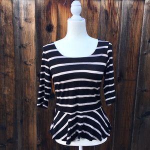 Striped Babydoll Shirt