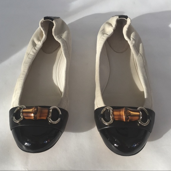 2cde8c44ffd Gucci Shoes - Gucci Bamboo Bit Ballerina Flats (Sz 8 38)