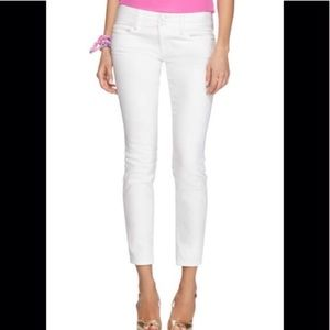 Lilly Pulitzer Worth Straight Cropped Jean sz 00