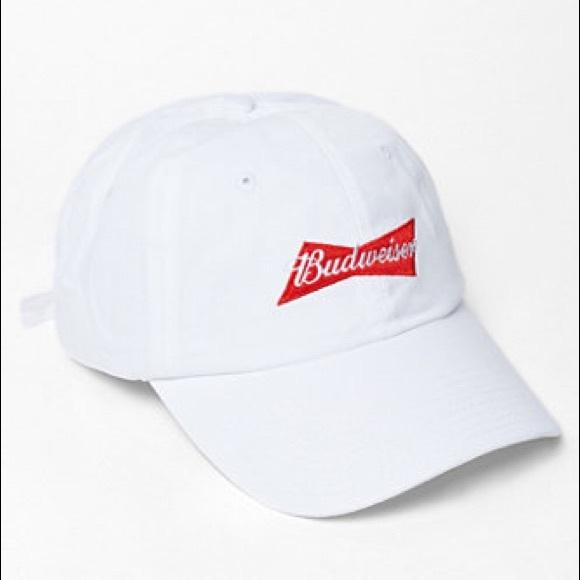 7467fe394b201 Budweiser been trill dad hat baseball cap nwt