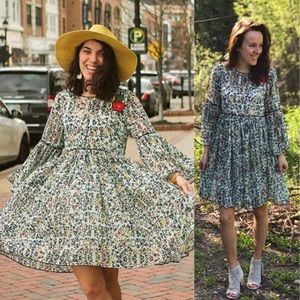 07db383ce2a Anthropologie Dresses - 💃HP💃Anthropologie Libra Embroidered Tunic Dress