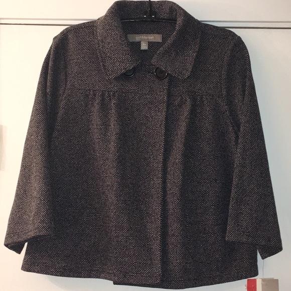 croft & barrow Jackets & Blazers - NWT CROFT & BARROW Tweed Balero Jacket