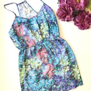 NWT multi color floral top/dress by Aeropostale