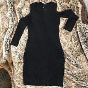 Rebecca Minkoff black knit dress size XS, HOT!