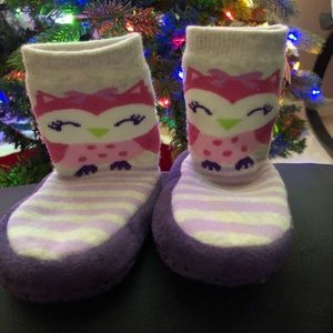 Other - Owl sock slippers