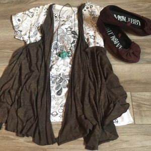 Urban outfitters brown vest