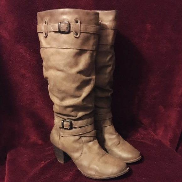Shoes | Kohls Tall Boots With Heel And