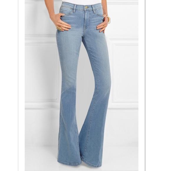 ee041836c5ecf Frame Denim Denim - Frame Le High Flare Jeans in Lovella